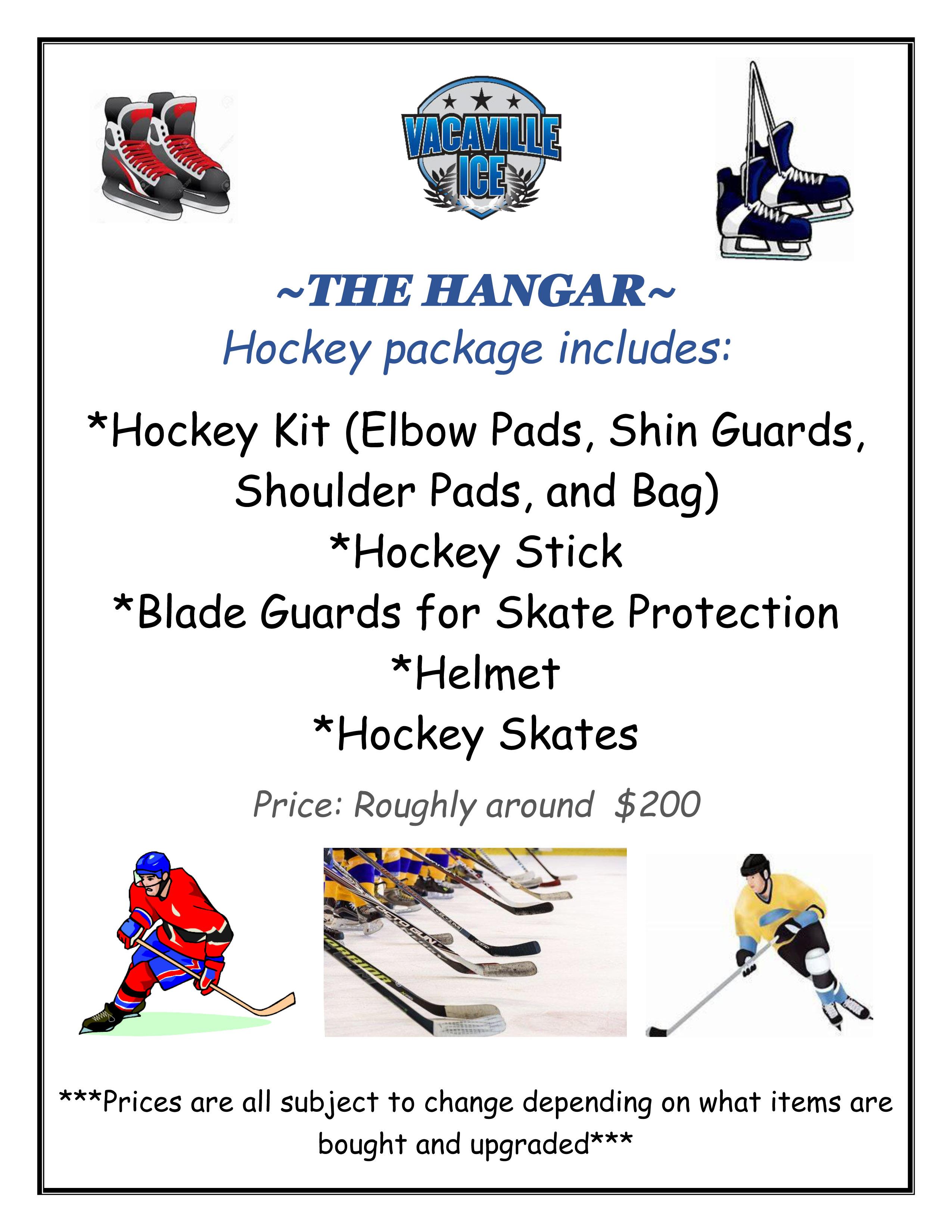 Hockey Package Flyer