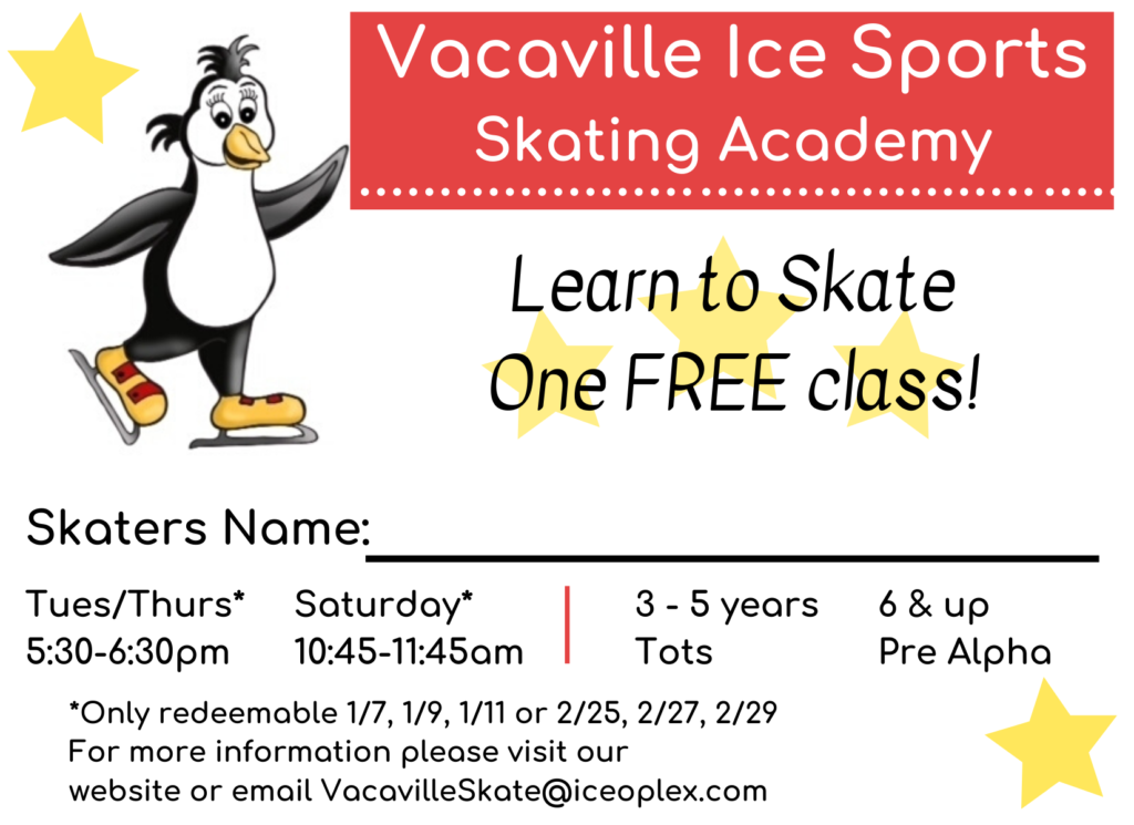 Learn to Skate - 1 Free Class